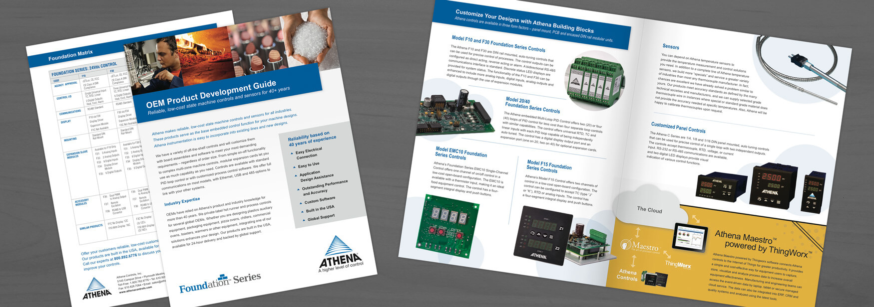 Athena Controls Brochure