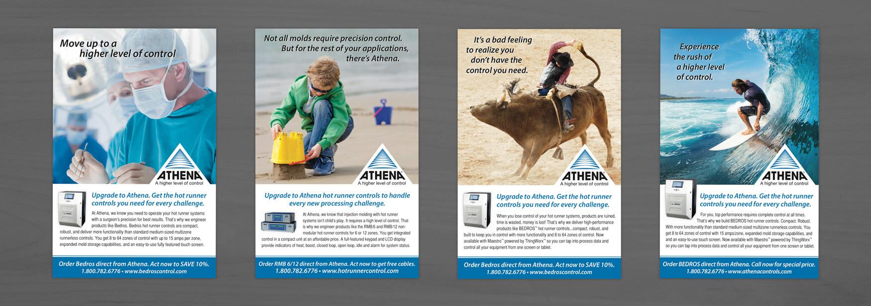 Athena Print Ads