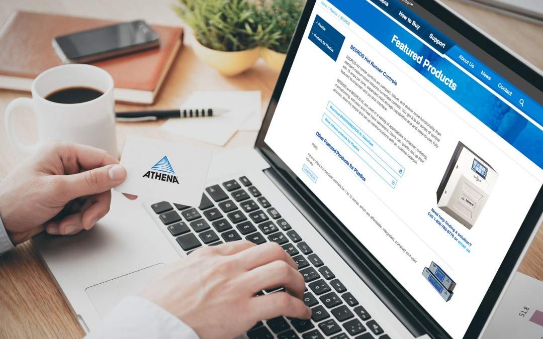 Schubert b2b Launches Athena Controls Website With New Look and Feel for E-Commerce
