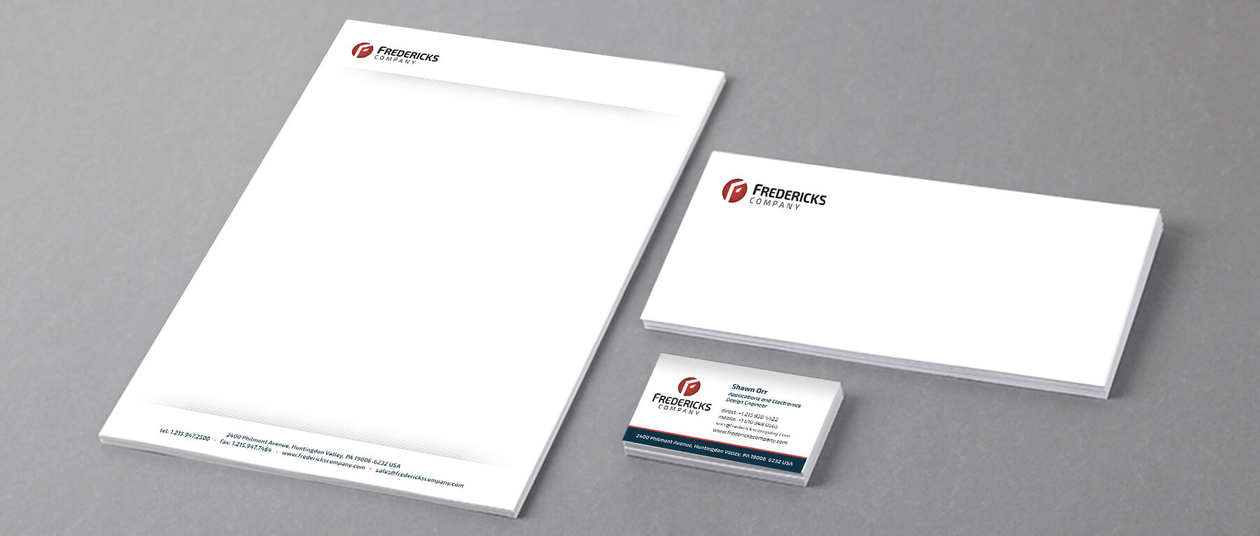 Fredericks Company B2B Brand Identity