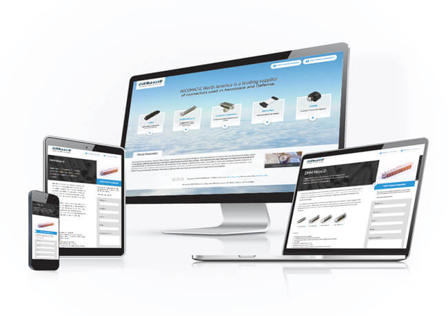 Nicomatic Website Design