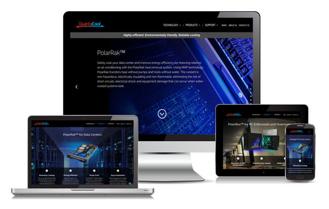 QuantaCool Selects Schubert b2b to Design New Sales-Ready Website for Electronics Cooling Systems | Schubert b2b