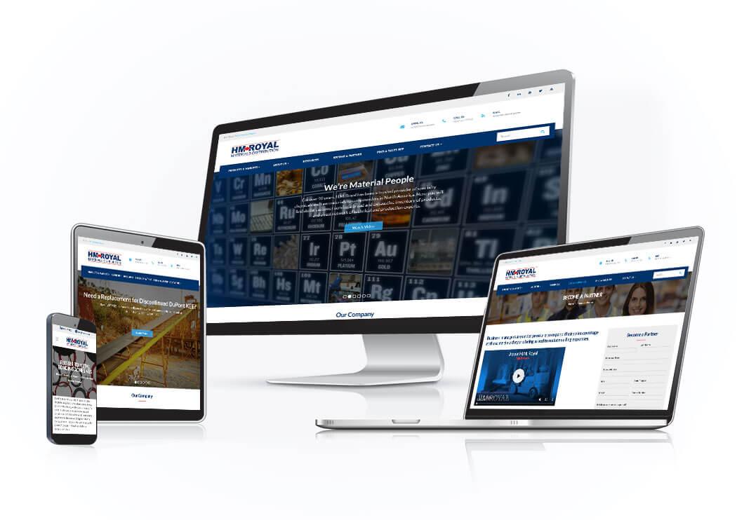 Fredericks Company Web Development